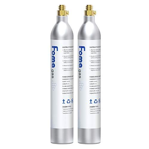 FOMAGAS 60L Co2 Carbonator, 425 Gram Carbon Dioxide