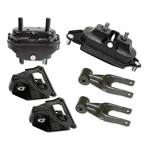 K1100 Fits 2004-2005 Pontiac Grand Prix 3.8L Engine Motor /& Transmission Mount Set 6PC A2906 A5309 A5309 A2866 A2866 A2712