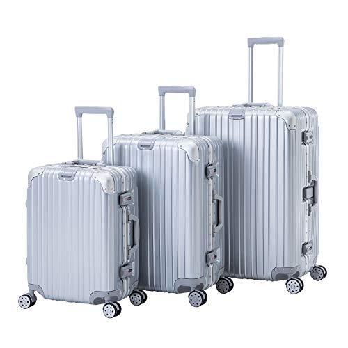 Murtisol Luggage Sets 3 Pieces AL Frame Design