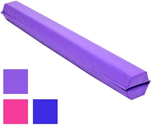 Best Choice Products 9ft Folding Medium-Density Foam Floor Balance Beam