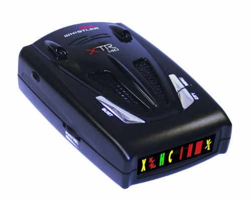 Cheap Whistler XTR-140 Laser/Radar Detector with Exclusive Twin Alert Periscopes