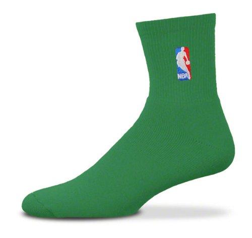 aed9e3d0681804 Bare Feet for Calzini NBA, Verde (Verde), L: Amazon.it: Sport e ...