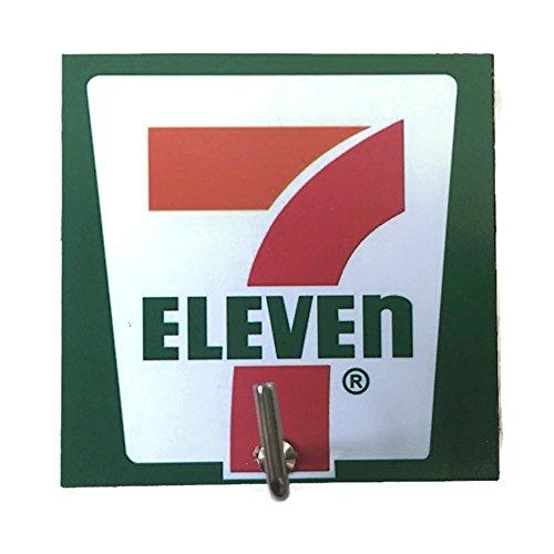 agility-bathroom-wall-hanger-hat-bag-key-adhesive-wood-hook-vintage-7-eleven-shop-logos-photo