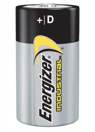 Energizer Industrial D Alkaline Battery. (36 Each) by Energizer