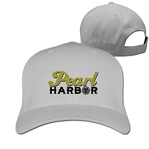 Men Women Navy Pearl Harbor Hawaii Sport Snapback Peaked Hats Ash Unisex