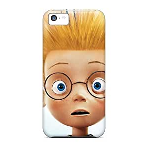 Iphone 5c Wwe13588gZOu Unique Design Nice Mr Peabody Sherman Pattern Protector Cell-phone Hard Cover -IanJoeyPatricia