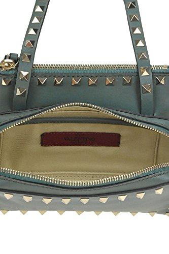 Mujer Verde Valentino Bolso Cuero MCGLBRE04019I Hombro De WBzx8fZxqw