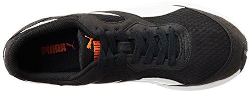 Puma Ftr Tf-racer F5, Unisex-Erwachsene Sneakers Schwarz (Black/White)