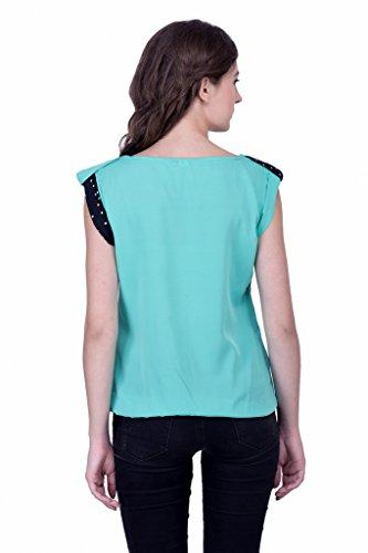 Sarjana Handicrafts - Camisas - para mujer Verde Mar