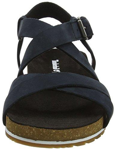 Naturebuck Timberland Sandalia Pulsera Ankle Con Black jet Negro 015 Malibu Mujer Para Waves 6w6qxTrp1P