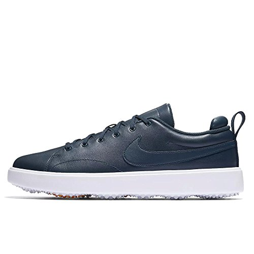 - NIKE Men's Course Classic Golf Shoes (Medium) (12 M, Armory Navy/White)