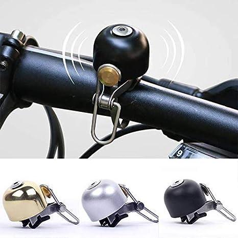Mini Bicycle Handlebar Bell Touch Ring Aluminium Alloy Bike Cycling Horn Cute .t