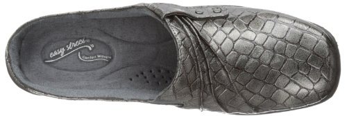 Holly Easy Pantoletten Pewter Croco Street Patent Rund Synthetik p5zpqr