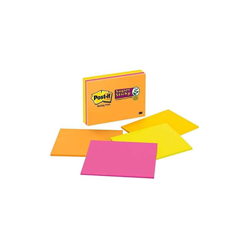 Post-it Super Sticky Notes, 2x Sticking