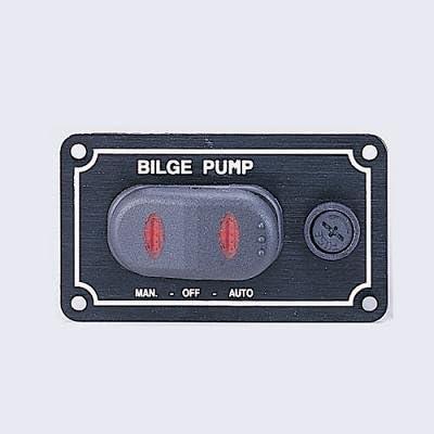 Renewed Shoreline Marine Bilge Pump Switch 3-Way Panel