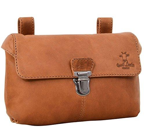 Leather Wallet Gusti Leder studioApril Belt Waist Pouch Bum Bag Purse Practical Festival Concert Casual Accessory Vintage Cognac Unisex 2G4-22-5