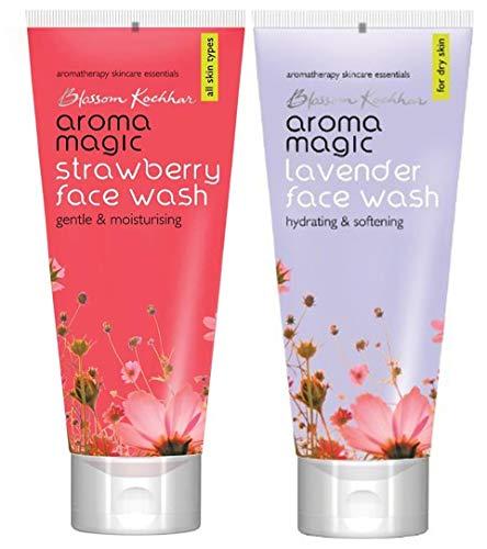 Aroma Magic Face Wash 100 ml  Strawberry  and Aroma Magic Face Wash 100 ml  Lavender