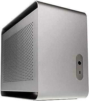 Caja Streacom DA2 Mini-itx-boitier – Plata st-da2s: Amazon.es ...
