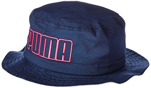 Puma Mens Murrary Stretch Twill Bucket Hat Peacoat