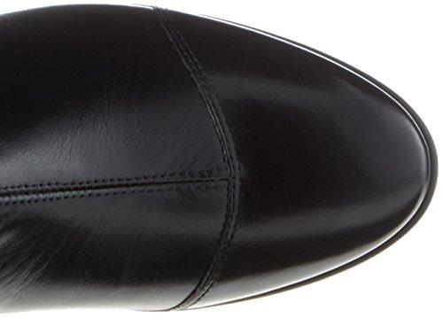 Marc O'Polo Mid Heel Medium Boot 70714187101122, Stivali Arricciati Donna Nero (Nero)