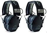 Walkers-GWPRSEMPAT-Razor-Patriot-Electronic-Earmuff-23-dB-Black--2-Pack