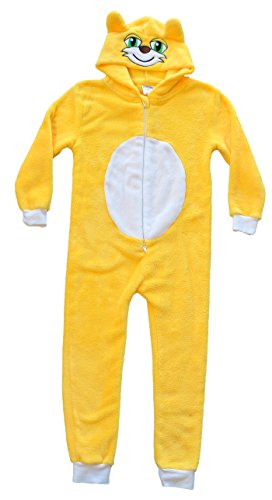 Stampycat Costume (Stampy Cat Long Nose Animal Costume - Childrens Plush One Piece Pajamas (10))