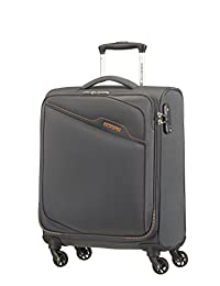 American Tourister 72523-2102 Bayview Carry-On Spinner, After Dark, International Carry-on