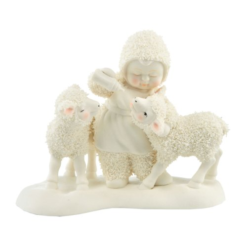 Department 56 Snowbabies Classics Little Lambs Figurine, 5 inch