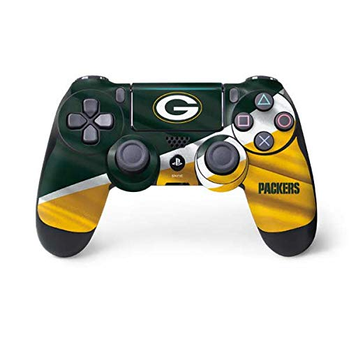 Skinit Green Bay Packers PS4 Pro/Slim Controller Skin - Officially Licensed NFL Gaming Decal - Ultra Thin, Lightweight Vinyl Decal Protection