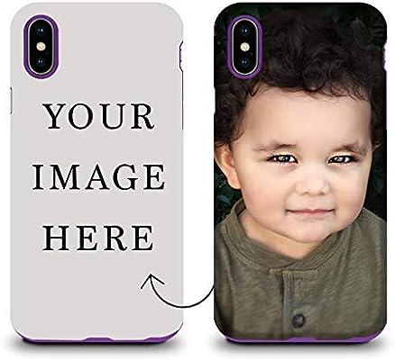 Amazon.com: Carcasa personalizada para iPhone X/XS, haz tu ...