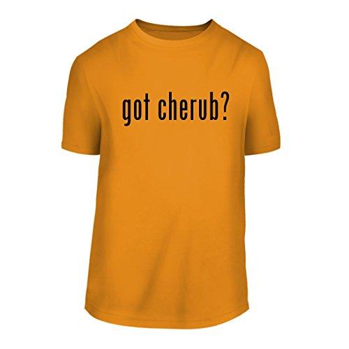 got cherub? - A Nice Men's Short Sleeve T-Shirt Shirt, Gold, Large