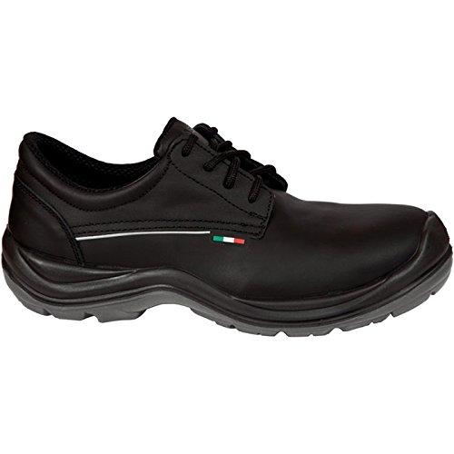 Giasco Halbschuh Genk S3, Größe 42, 1 Stück, schwarz, HR051L42
