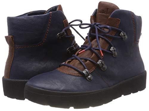84 Drunta Navy Bleu Boots 383092 Femme Think kombi Desert 6ABwBY