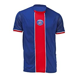 PARIS SAINT GERMAIN Maillot Supporter PSG - Collection Officielle Football Club Ligue 1 - Taille Adulte Homme