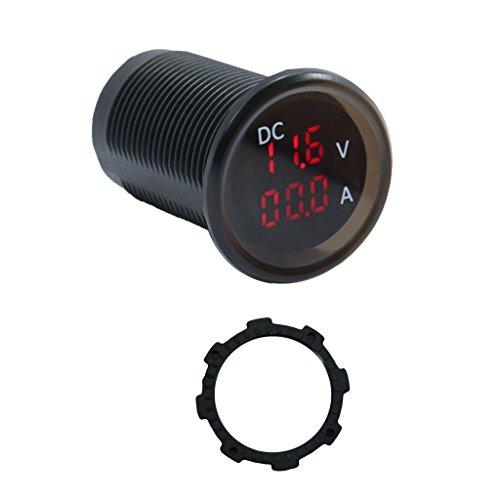Baoblaze DC Digit LED Panel Meter Volt/Current Meter Voltmeter & Ammeter Combo Gauge: