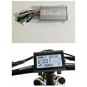 41qHQ5 fayL. SS300 Nbpower controller per motore senza spazzole di bici elettrica, 36V/48V, 500W, 22A, DC + display KT-LCD3One set, utilizzato per kit bici elettrica 500W
