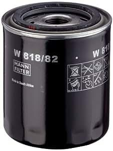Mann-Filter W 818/82 Filtro de Aceite