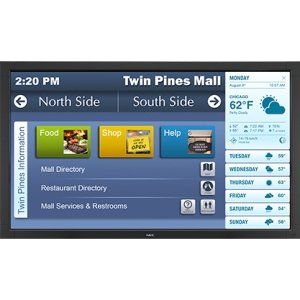 """Nec Display Solutions V423-Tm - Led Tv - Hd Touch - Ips - Led Backlight - 42 Inch - 1920 X 1080 - - By """"Nec Display Solutions"""" - Prod. Class: Monitor / Display / Projector/Plasma/Lcd/Crt Tv / > 45 Inch"""
