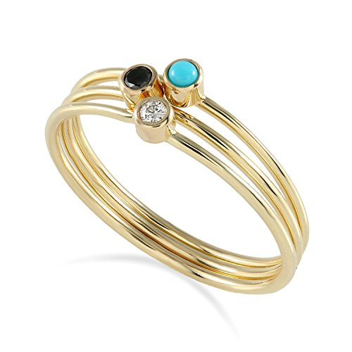 Solit (Black Tiara With Stones)
