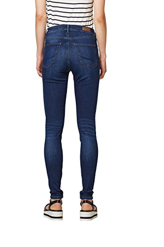 Blu 901 By Wash Dark Edc Esprit Donna blue Jeans Skinny RHwqwPC