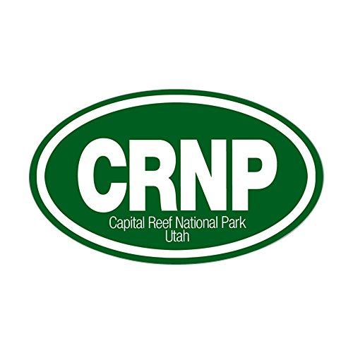 CafePress - Capitol Reef National Park Oval Sticker - Oval Bumper Sticker, Euro Oval Car (Euro Reef)