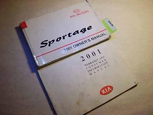 2001 kia sportage owners manual kia amazon com books rh amazon com 2001 Kia Sportage 4x4 2001 Kia Sportage Interior