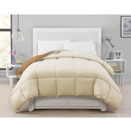 Crawford Daybed - CJ Breeze by Caribbean Joe Reversible Down Alternative Bedding Comforter (TAN/CREAM)