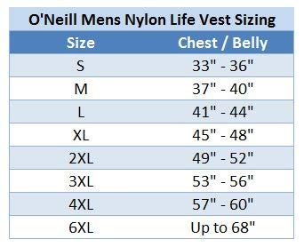O'Neill Mens Superlite USCG Life Vest M Black/Graphite/Smoke/Yellow (4723) by O'Neill (Image #6)