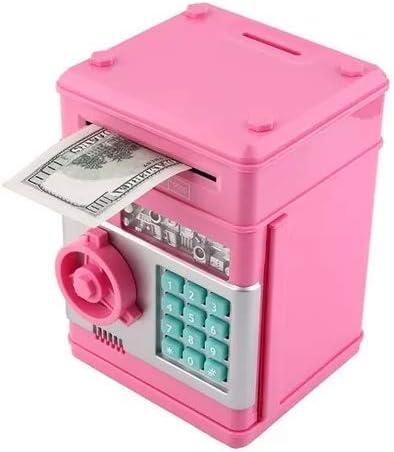 Archy Alcancía Electronica Caja Seguridad Niños ATM Cajero Clave Rosada