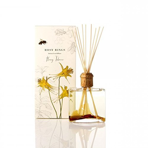 Rosy Rings Botanical Reed Diffuser, Honey Tobacco by Rosy Rings (Image #1)