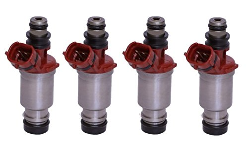 UPGRADE 4 hole fuel injectors for 93-97 Corolla/Celica/Geo Prizm 1.8L (pack of 4)