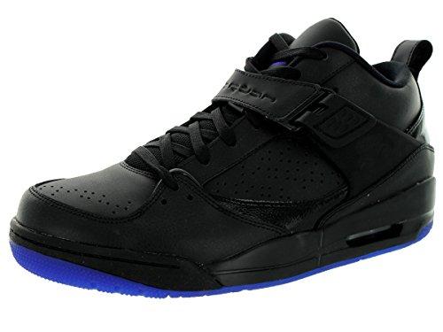 Nike Jordan Jordan Flight 45 Prem Basketballschuh Black Dark Concord ... a49b2d8096