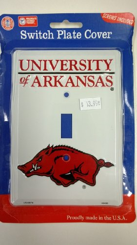 - Arkansas Razorbacks Light Switch Cover