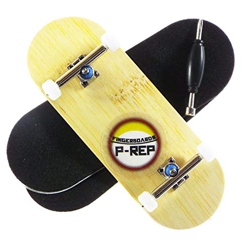 P-REP Bamboo - Solid Performance Complete Wooden Fingerboard (Chromite, 34mm x 97mm)